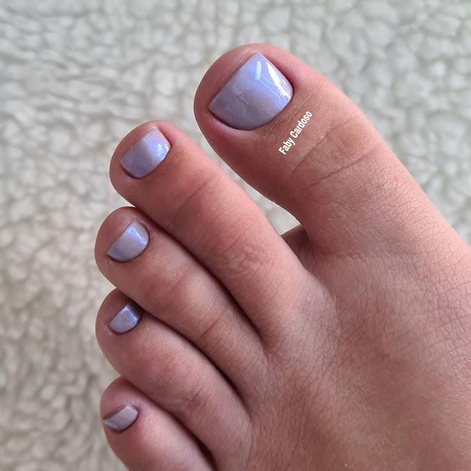 Cintilante nos pés, por que não?