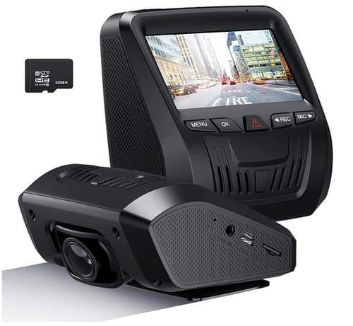 NEZINI Car FHD Dash Cam Dashboard Camera Recorder