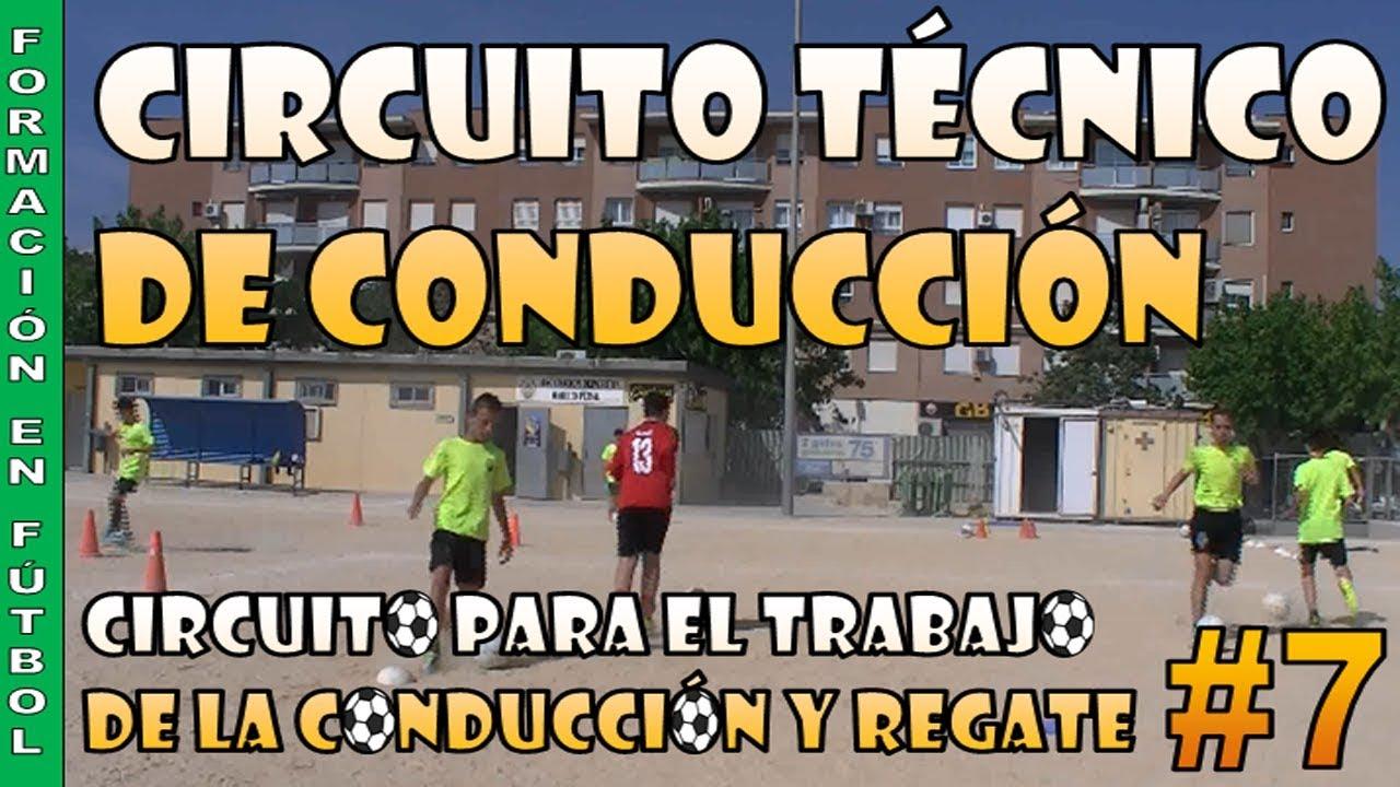 Circuito Tecnico Futbol : Circuito técnico de conducción vídeo ejercicios fútbol optifutura