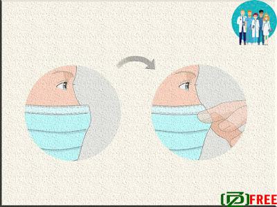 Adjust the nose strip