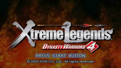 Download Game Dynasty Warriors 4 Xtreme Legends ISO PS2 (PC)