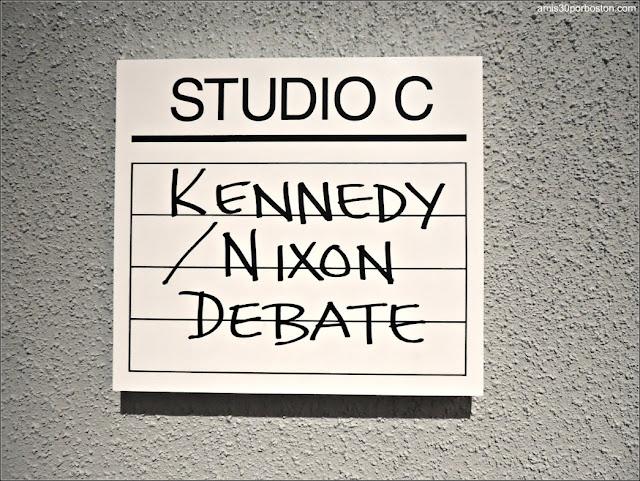 Estudio de Grabación del Debate Presidencial entre Nixon y Kennedy