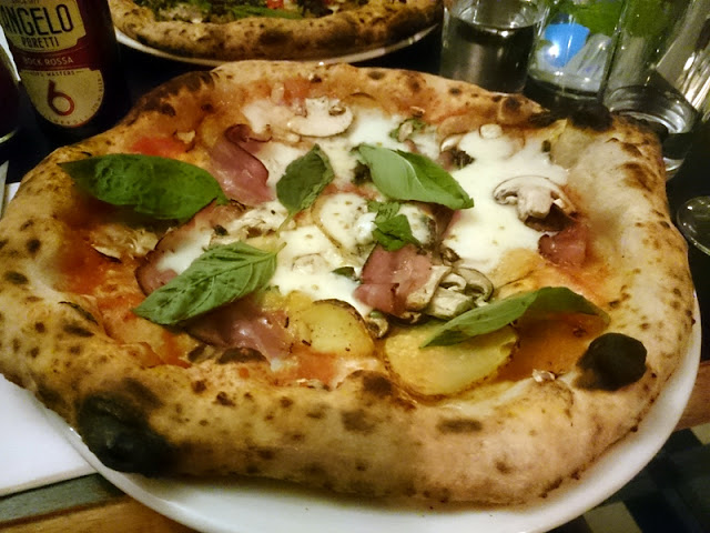pizza at fatto a mano - christmas food brighton