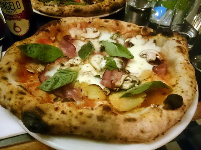 pizza at fatto a mano - christmas food brighton