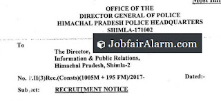 HP-Police Constable Apply online