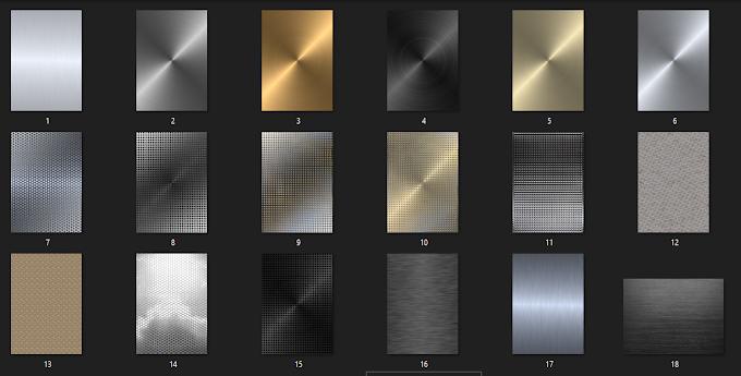 20 Adet Metal Doku | Metal Textures