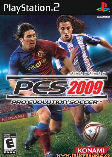 pes 2009 ps2