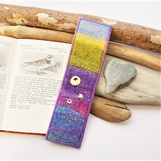 felt sheep bookmark