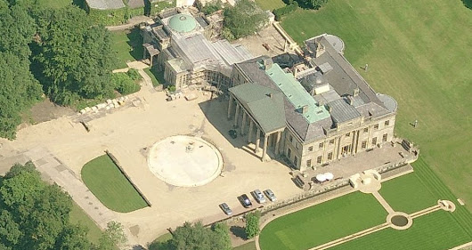 Billionaire Vacuum Inventor Dyson In Trouble - Aerial Views of His Estate