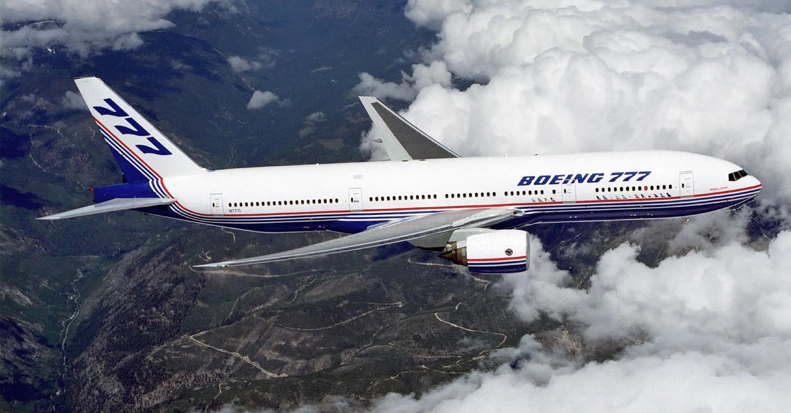 FAA exige inspeções para os envelhecidos Boeing 777