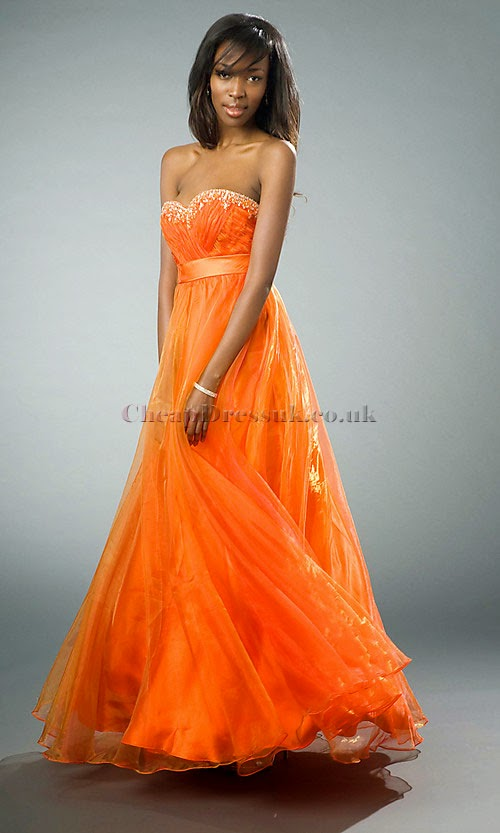 PANTONE 15-1247 Tangerine Dress, by Barbie's Beauty Bits