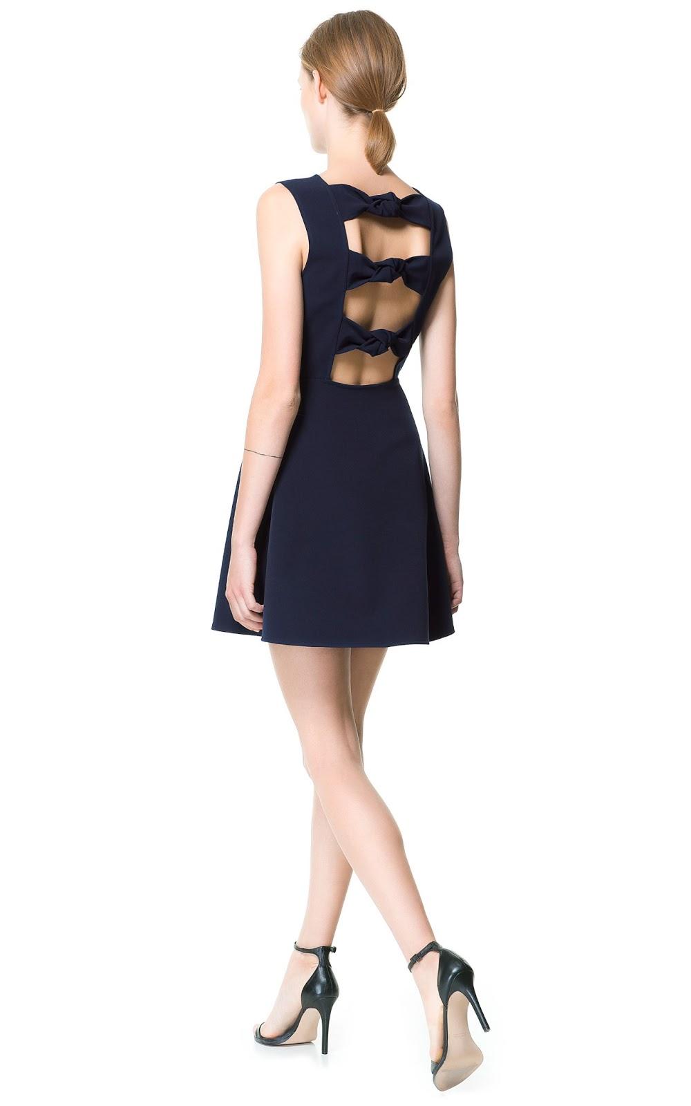 Vestido Preto com Babados | Vestido Feminino Zara Usado 33875999 | enjoei