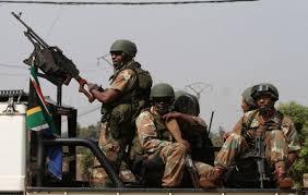 Soldats sudafricains