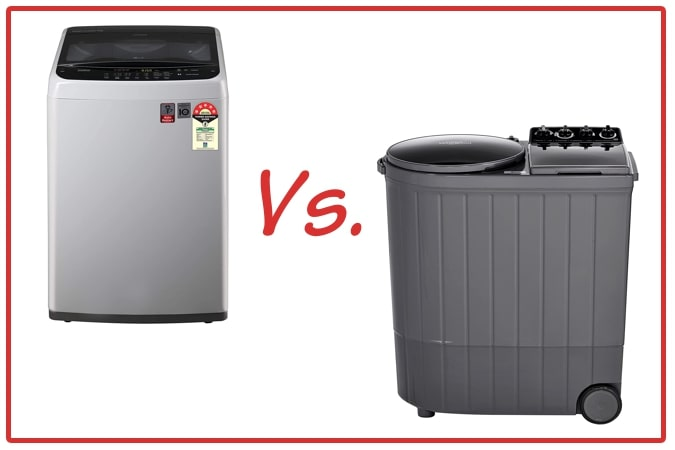 LG T70SPSF2Z and Whirlpool ACE XL Washing Machine Comparison.