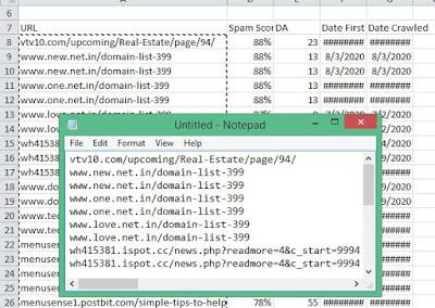 Cara menurunkan spam score blog3