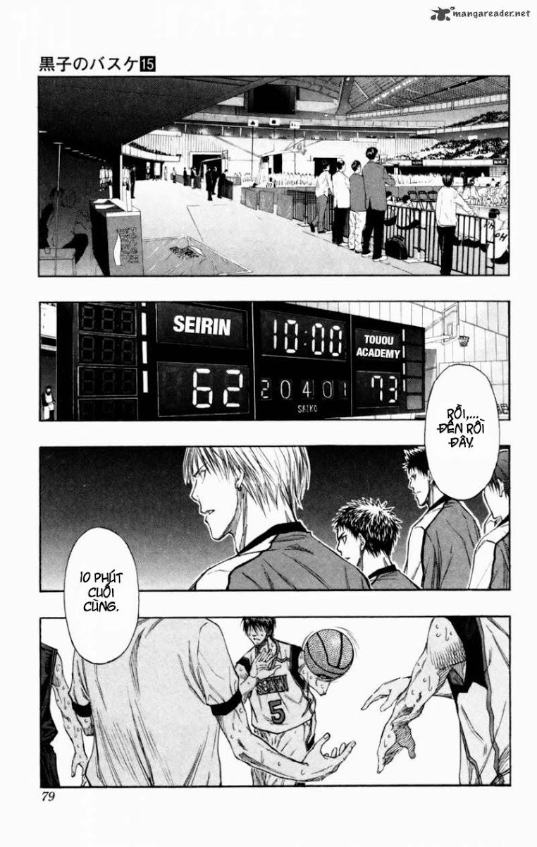 Kuroko No Basket chap 130 trang 12