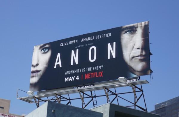 Anon film billboard