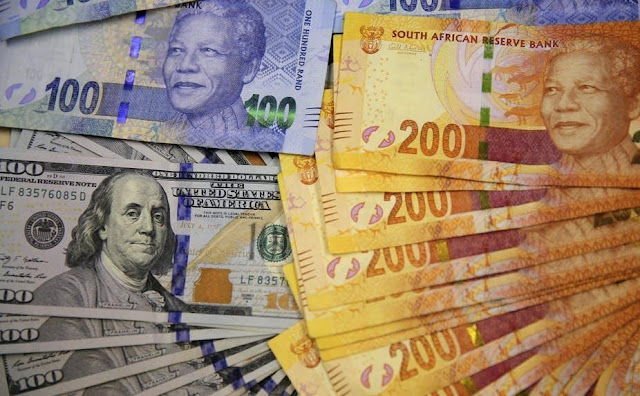 South African Rand and the US dollar