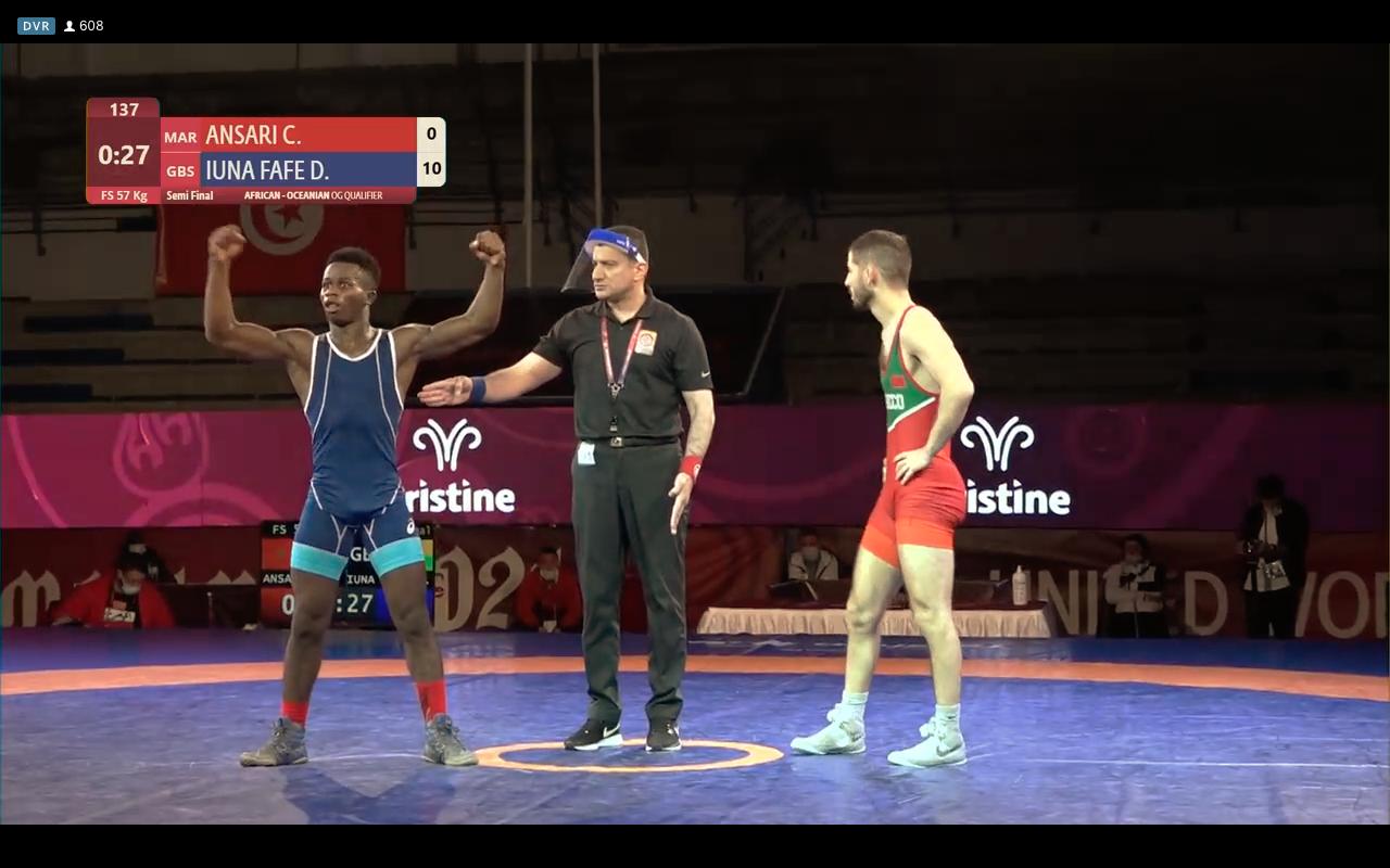 Guine-Bissau wrestling tokyo 2020