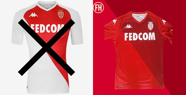 AS Monaco Ditches Traditional Colors For Collector's Kit - Footy ...