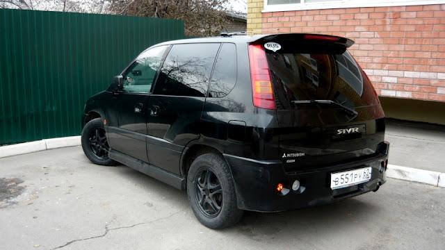Mitsubishi RVR, minivan