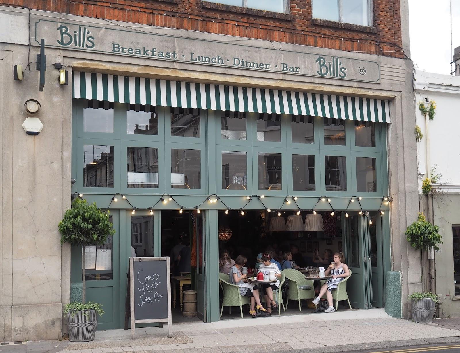 Bills restaurant, Brighton