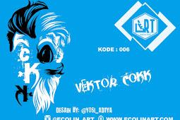 Vektor Cokk Desain by @yosi_adtya