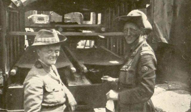 Dr. Elsie Maud Inglis (left)