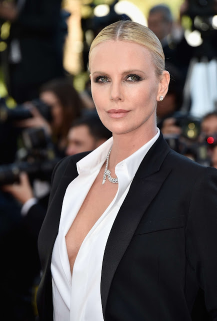 Actress, Model, @ Charlize Theron - 'The Last Face' Premiere at Cannes Film Festival