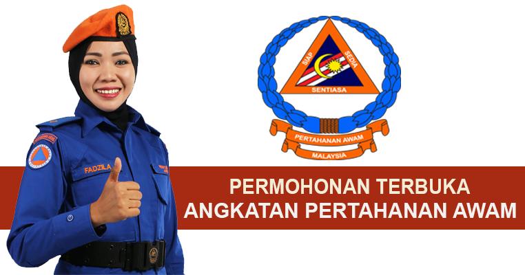 Permohonan Terbuka Angkatan Pertahanan Awam Malaysia