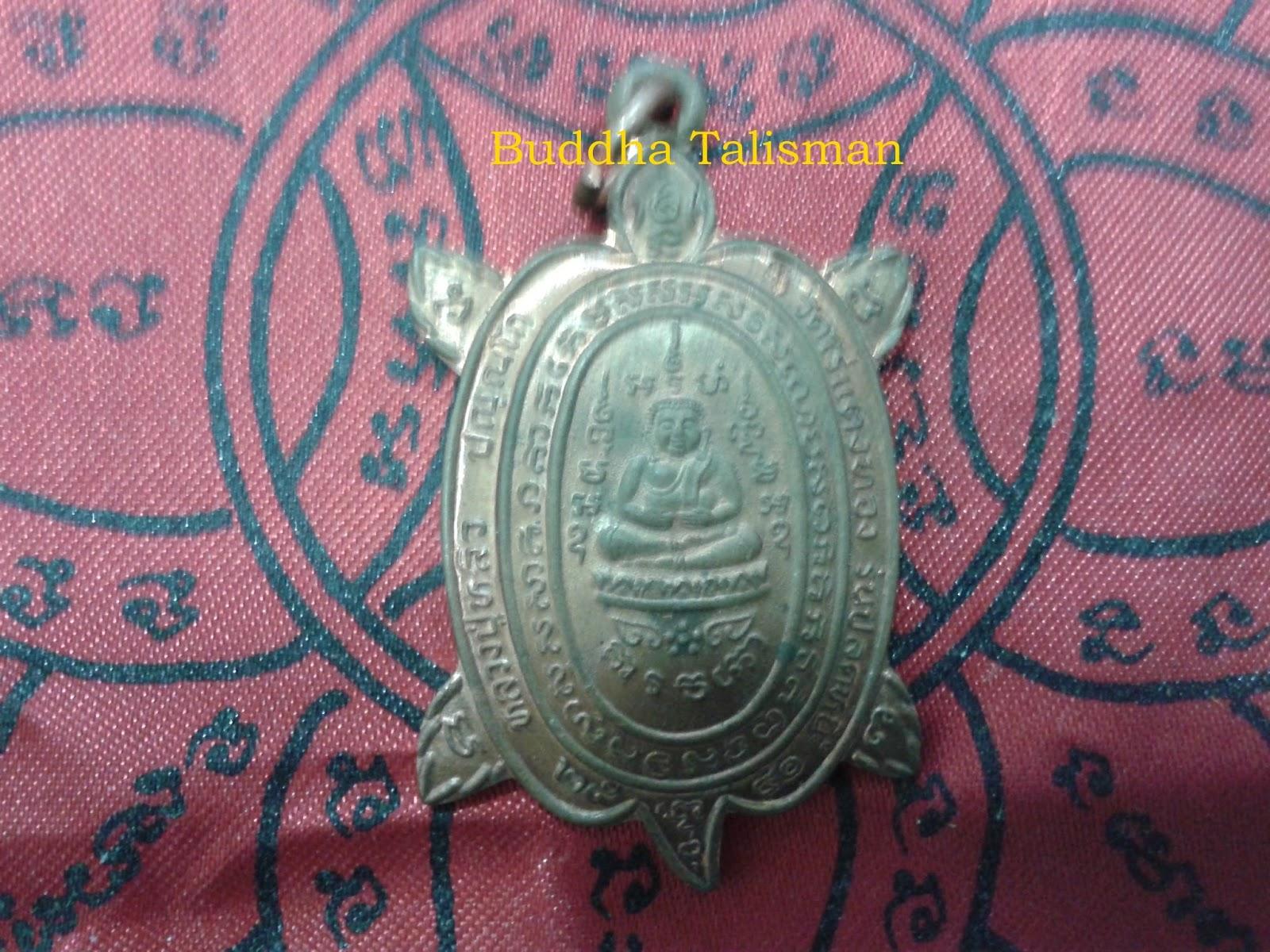 buddha magical amuletstalismans lek laiphayants luang