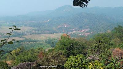Gunung Munara Pemandangan di Lereng