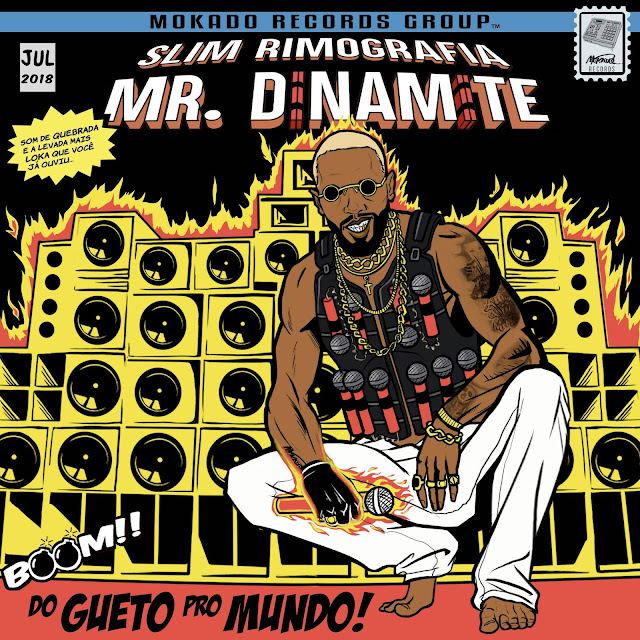 One Punch Man: Slim Rimografia é Mr. Dinamite em novo EP