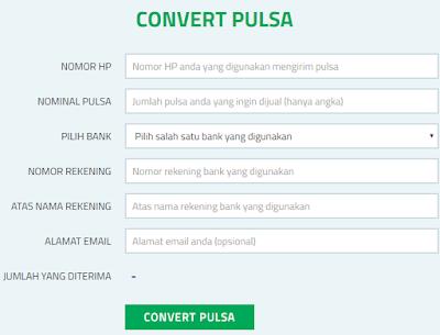 ConvertPulsa.co.id Merupakan Situs Penyedia Layanan Tukar Pulsa