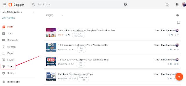Sabuta Responsive  Blogger Template Download for free