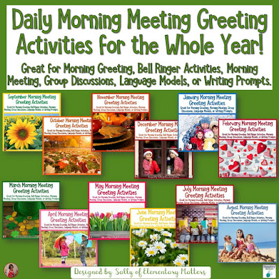 https://www.teacherspayteachers.com/Product/Morning-Meeting-Greeting-Activities-for-the-Whole-Year-4209589?utm_source=blog%20post%20Answering%20in%20Complete%20Sentences&utm_campaign=Daily%20Calendar%20Questions%20for%20the%20year