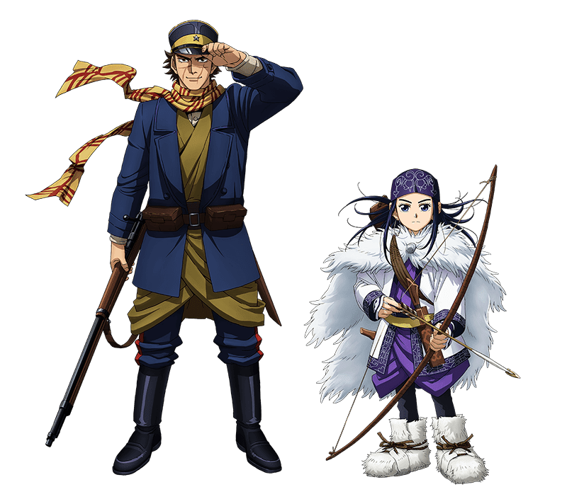 Golden Kamuy characters