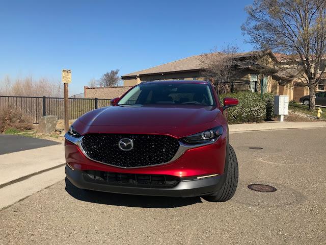 Front view of 2020 Mazda CX-30 AWD Premium