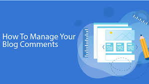 Manage your blog's comments