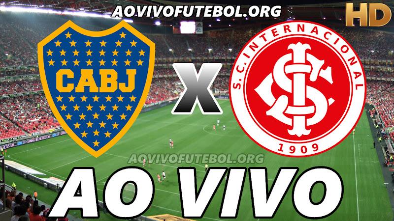 Boca Juniors x Internacional Ao Vivo Hoje em HD