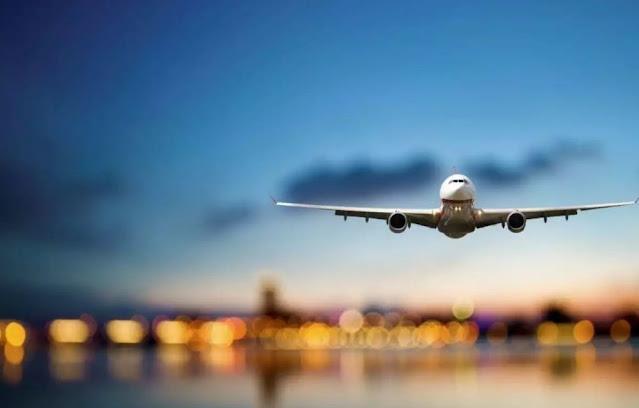 Pesawat Terbang Tidak Mengambil Jalur Lurus