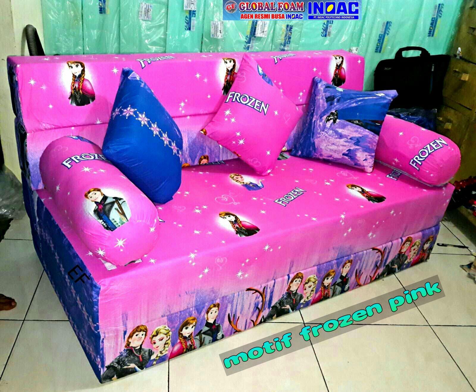 Harga Sofa Bed Inoac No 1 Round Pillows Kasur 2018 Distributor Busa Asli Global