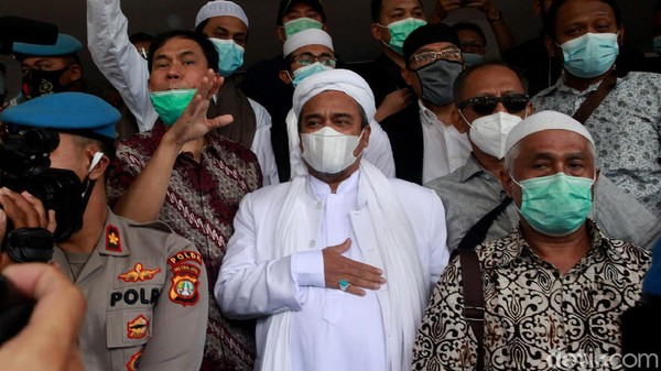 Jaksa: Rizieq Tak Larang Malah Bergabung di Kerumunan