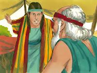 Йосиф съобщаваше на баща им за лошото им поведение