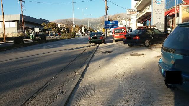 Ιωάννινα:Εικόνες ντροπής στην  κεντρικότερη λεωφόρο  και είσοδο από Ιόνια  και Εγνατία