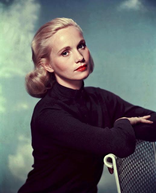 Bellas actrices rubias Hollywood década 1950