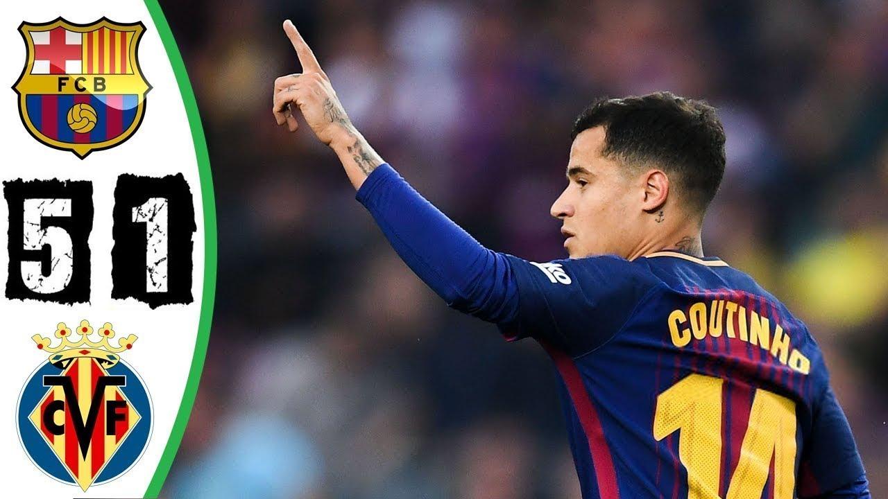 نتيجة مباراة برشلونة وفياريال اليوم الثلاثاء 24/09/2019 الدوري الإسباني