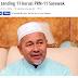 PAS Tanding 11 Kerusi PRN Sarawak, Sedia Lawan 3 Penjuru Dengan BN, PKR Dan DAP...