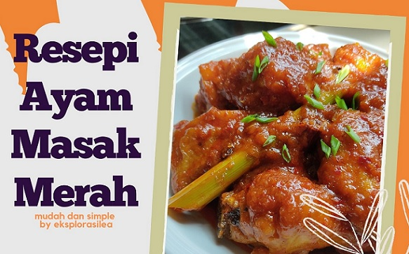 resepi ayam masak merah ala kenduri