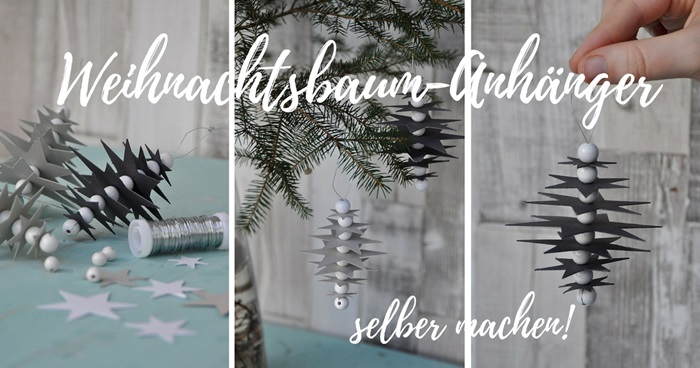 smillas wohngef hl diy weihnachtsbaum anh nger selber machen freebie. Black Bedroom Furniture Sets. Home Design Ideas